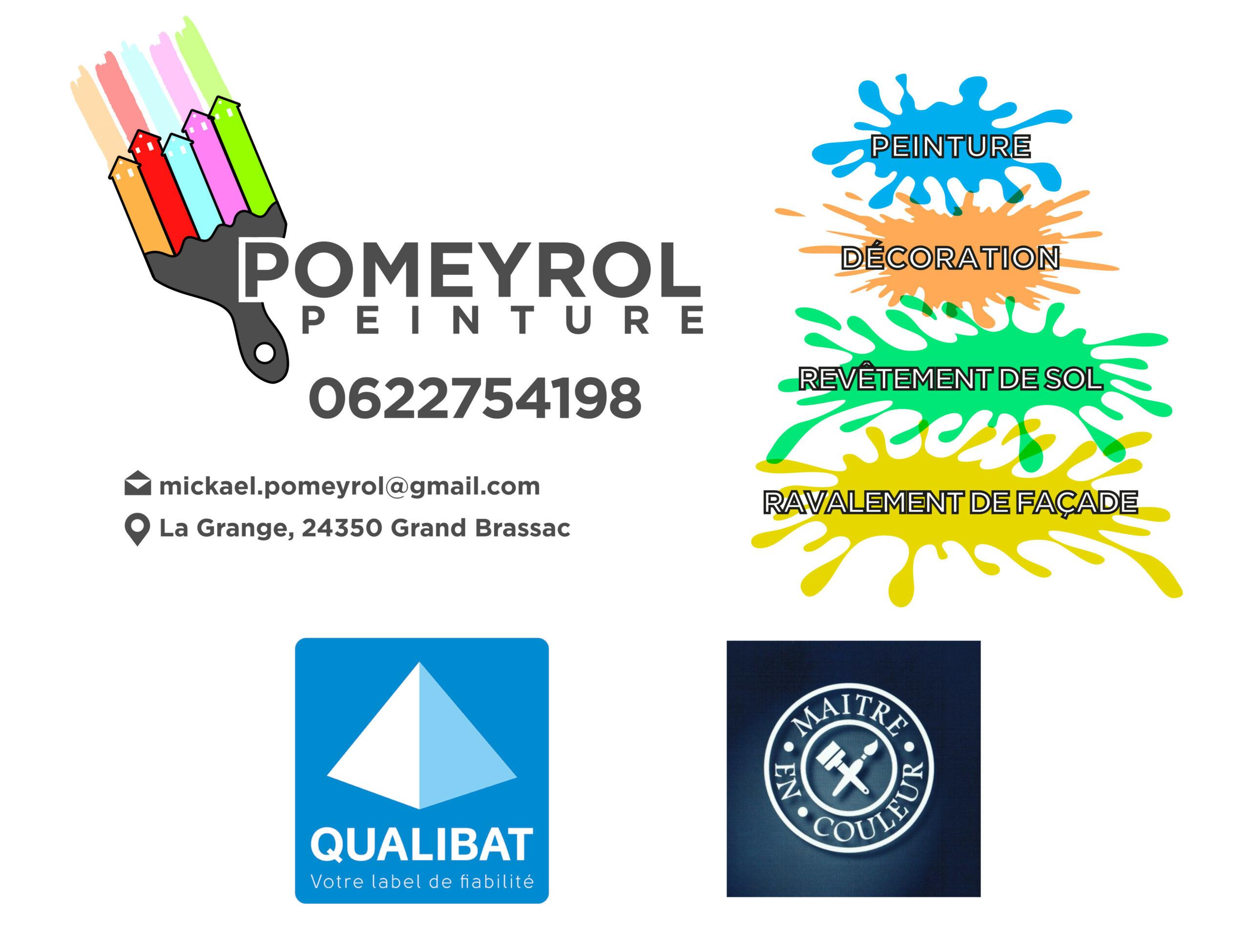 Pomeyrol peinture en bâtiment